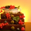 Stock Photo: Soft Fruits
