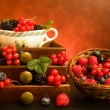 Still Life With Berries — Stock Photo