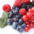 Mix Of Red Soft Fruits — Stock Photo #4095906