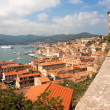 Stock Photo: View Of Portoferraio From Forte Stella, ElbIsland