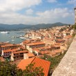 View Of Portoferraio From Forte Stella, Elba Island — Stock Photo