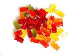 橡皮熊糖果 — 图库照片