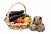 Ingredients For The Vegetarian Cuisine — Stock Photo