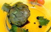 Artichoke In Vinaigrette — Stock Photo