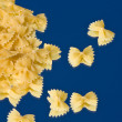 Italian Pasta - Farfalle — Stock Photo