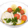 Cod Fish Salad — Stock Photo