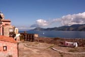 Esplanade Above The Sea, Fort Stella, Portoferraio — Stock Photo