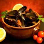 Постер, плакат: Mussels Soup