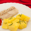 Royalty-Free Stock Photo: Plate With Fish And Potatoes