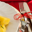 Royalty-Free Stock Photo: Detail Of Christmas Table