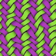 Green - Violet Twill Background - Stock Photo