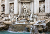 Trevi Fountain In Rome — Stockfoto
