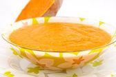 суп из тыквы — Стоковое фото