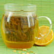 Green jasmine tea — Stock Photo #4512364