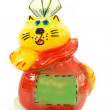 Cat piggy bank — Stock Photo #4543029