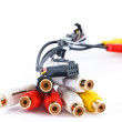 Audio Video Cable — Stock Photo