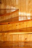 Merdivenlerde — Stok fotoğraf