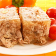 Stock Photo: Meat in aspic