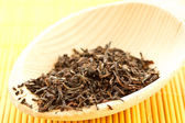 Black tea flavored — Stock Photo