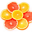 Grapefruit and orange — Stock Photo #4947876