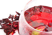 Hibiscus Tea — Stockfoto
