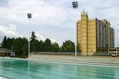 奥林匹克游泳池 — 图库照片