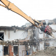 Stock Photo: Demolition works