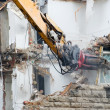 Stock Photo: Demolition excavator