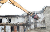 Demolition works — Stock Photo