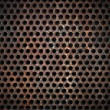 Grunge metal grid background — Stock Photo #5312305