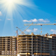 Multistorey building construction — Stock Photo
