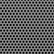 Gray industrial grid background — Stock Photo