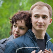Young loving couple — Stock Photo #5313989