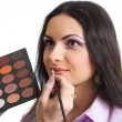 Makeup lips applying — Stock Photo #5315407