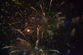 Firework culmination — Stock Photo