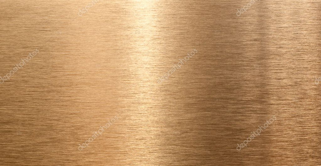 High Quality Bronze Texture With Light Reflection Stock
