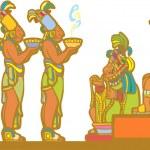 Mayan Court — Stock Vector