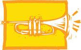Trumpet — Vetorial Stock