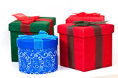 Christmas Packages — Stock Photo