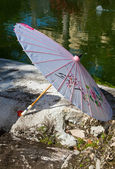 Japanese Umbrella — Stock Photo