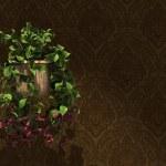 Flowers' Basket — Stock Photo