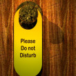 Please don't disturb — Stock Photo