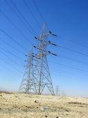 Telephone Line Tower — Stok fotoğraf