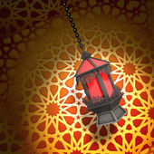 Egyptian lantern — Stock Photo