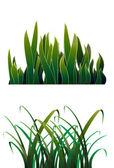 Grüne gras — Stockvektor
