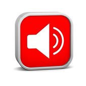 Enable Audio Sign — Foto de Stock