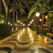 Stock Photo: Alicante main promenade, Benidorm, Spain