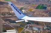 Alicante, spanien - 28 november: flygplatsen på vintern den 28 november i alicante — Stockfoto