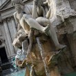 Four rivers fountain — Stockfoto