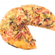 Combo pizza — Stock Photo